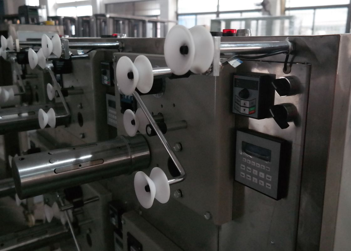 Cross Automatic Thread Winding Machine , Wool Yarn Cone Winder Industrial